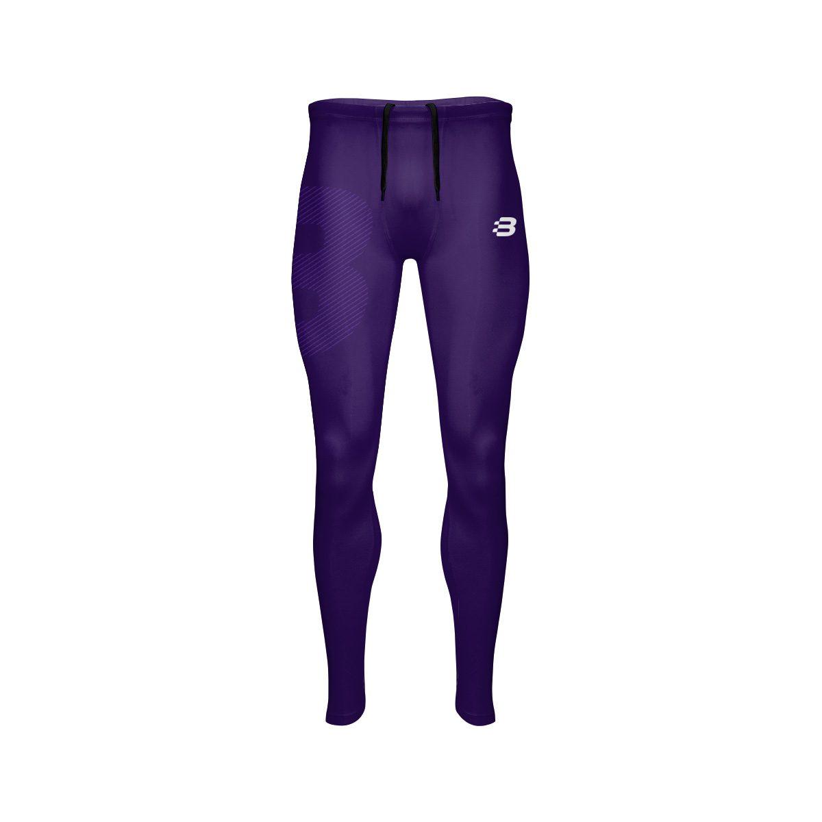 c801f13d9f Mens Compression Shorts - Dark Purple