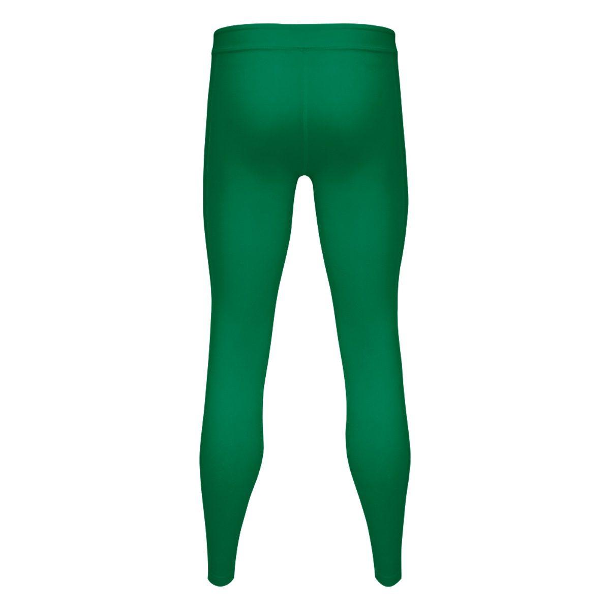 406727942e Ladies Compression Tights - Emerald Green - Blackchrome