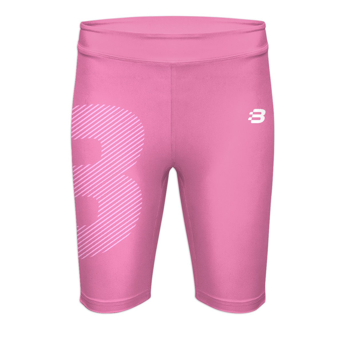 Ladies Compression Shorts - Light Pink
