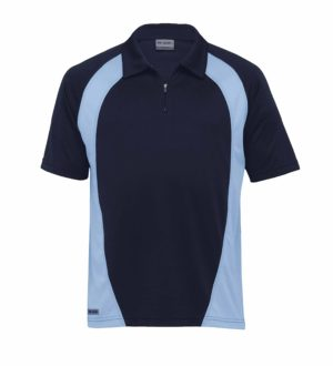 Dri Gear Active Blitz Polo - DGP - Navy/Sky