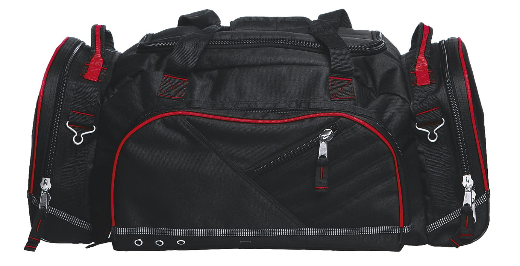 Recon Sports Bag - BRCS - Black/Red