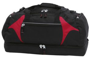 Spliced Zenith Sports Bag - BSPS - Black/Red