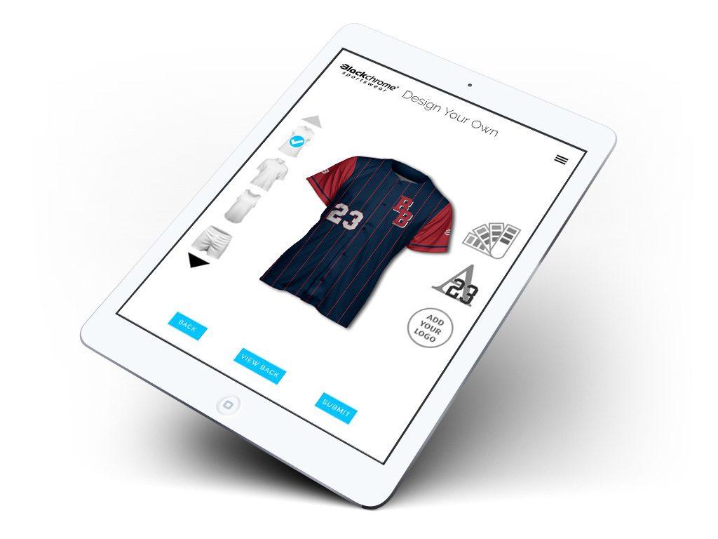 Baseball DYO SUB - iPad Air 2 Mock Up (Portrait)