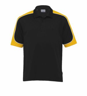 Dri Gear Challenger Polo - DGCHP - Black/Gold