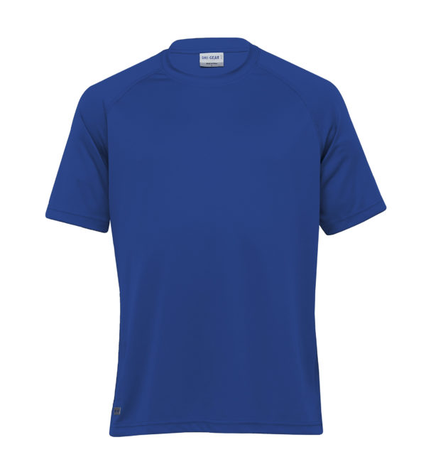 Dri Gear Plain Raglan Tee - DGR - Royal