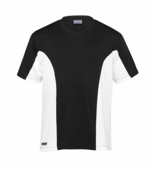 Dri Gear Active Viper Tee - DGT - Black/White