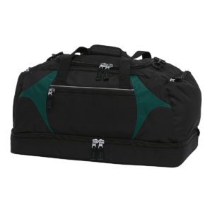Spliced Zenith Sports Bag - BSPS - Black/Green