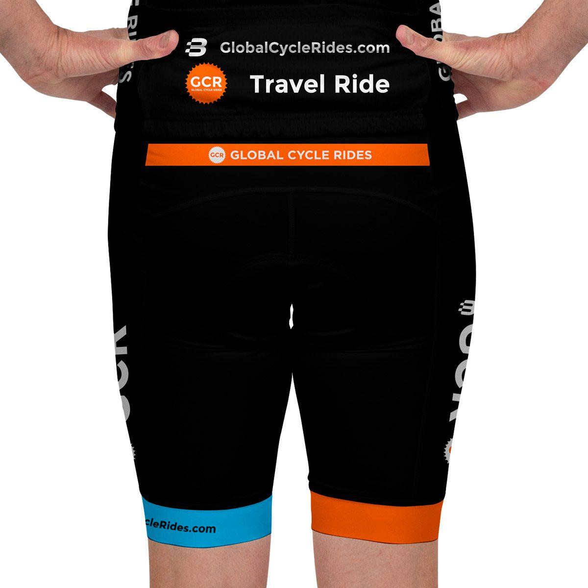 b234f4195e5 ... Global Cycle Rides - Mens Pro Kit - VL64683 - Bib Knicks - Front  Global  ...