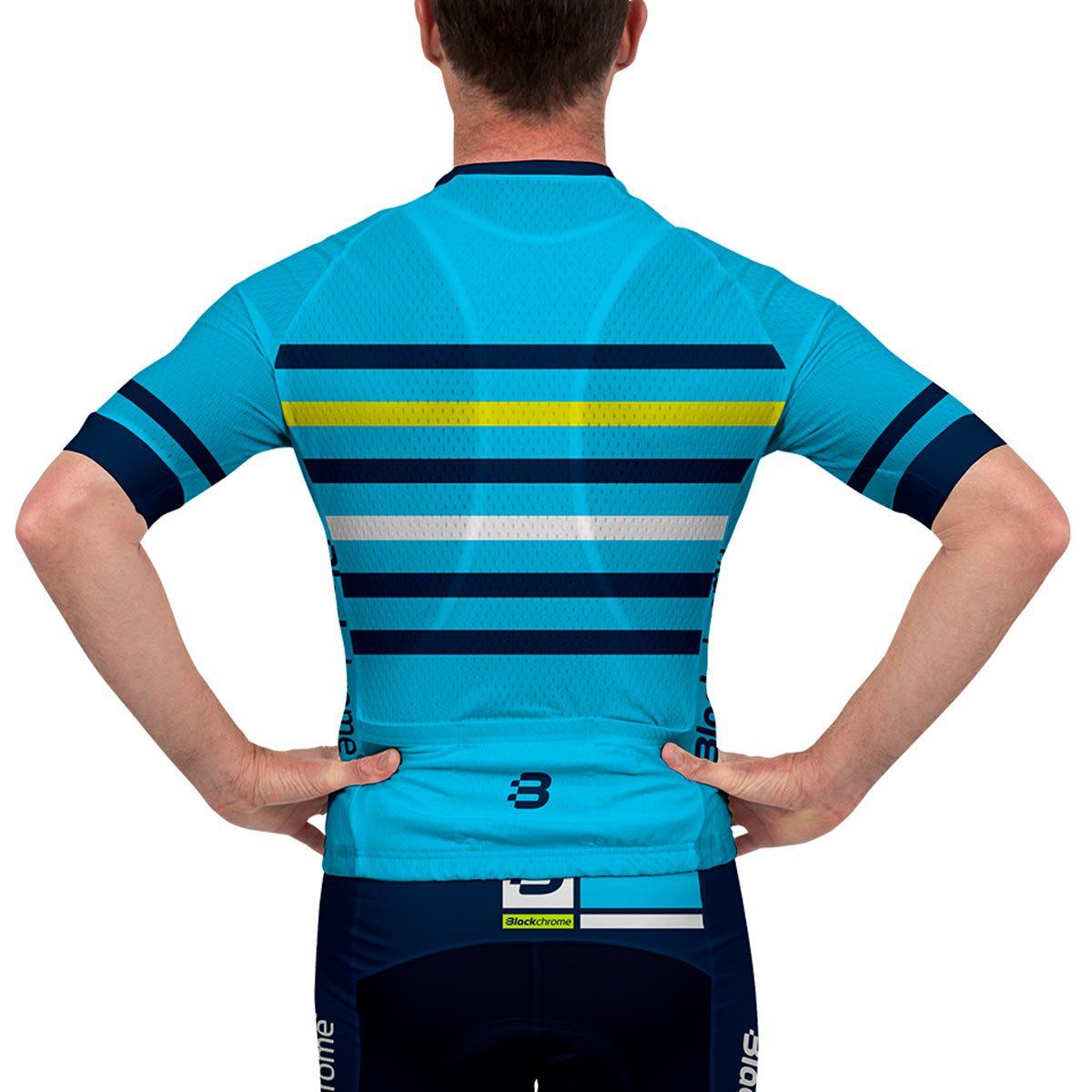 Mens rails pro fit jersey blue blackchrome for Fishing sponsor shirts