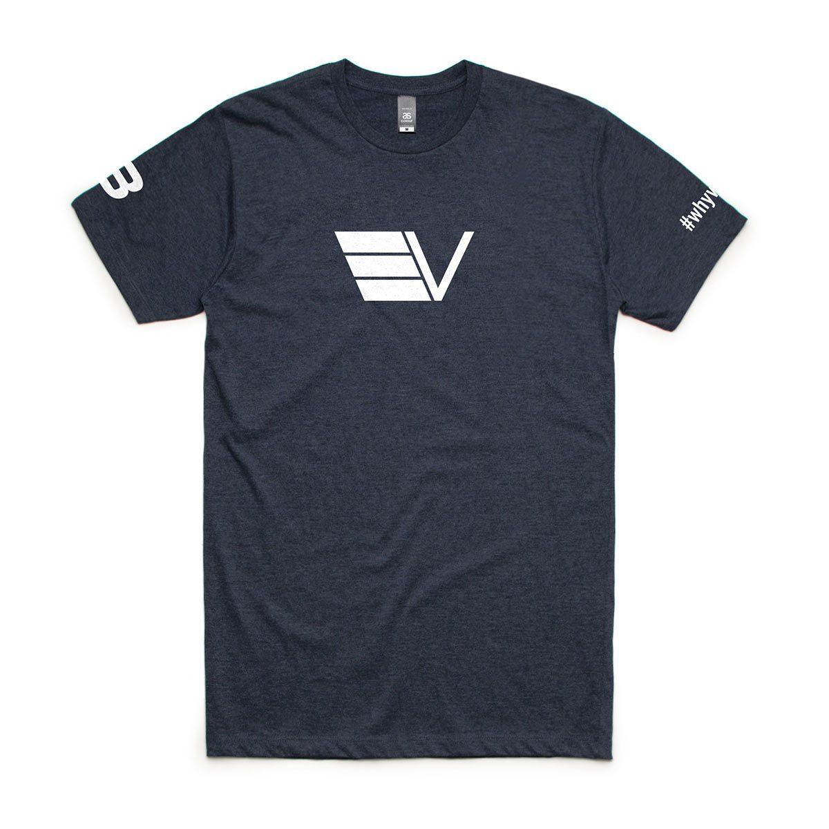 Velothon - OTS - 5006 Mens T-Shirt - AS Colour - Flat Lay