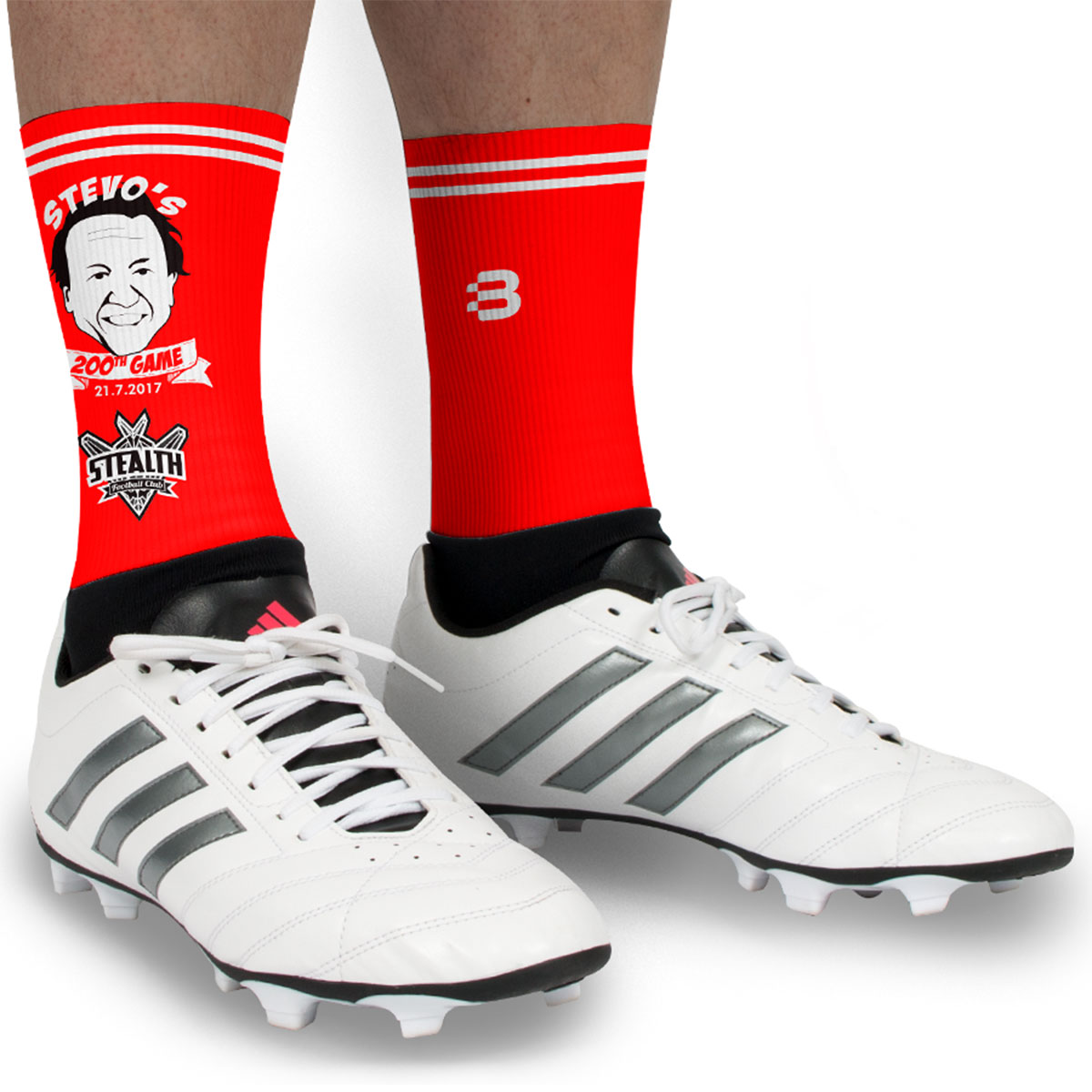 AFL 5 Inch Socks - Caricature