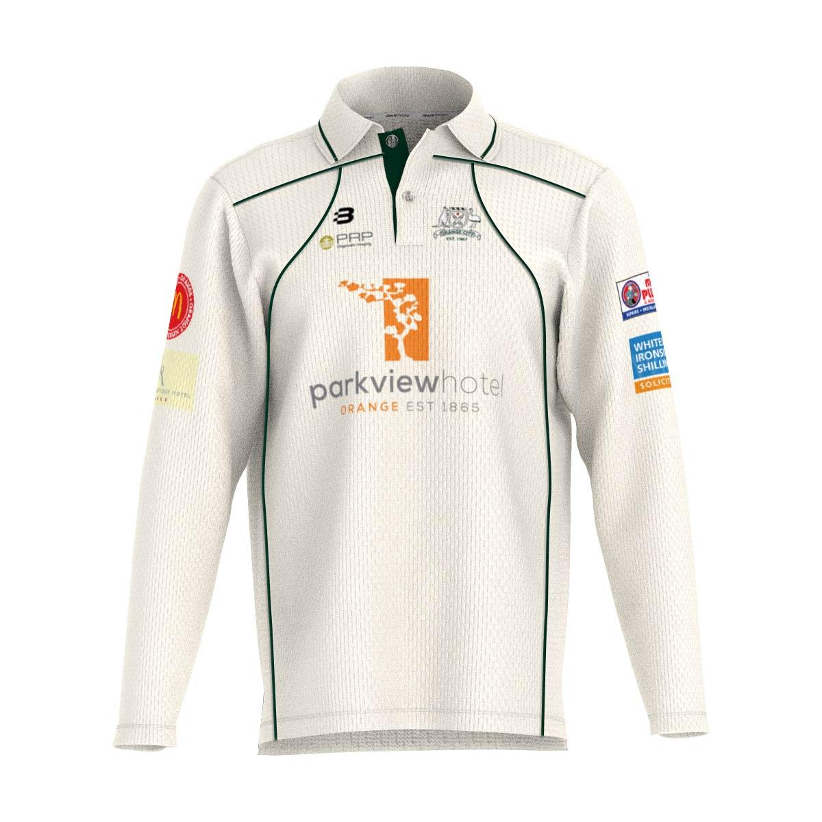 Orange City Cricket Club - Long Sleeve Playing Shirt - Pro
