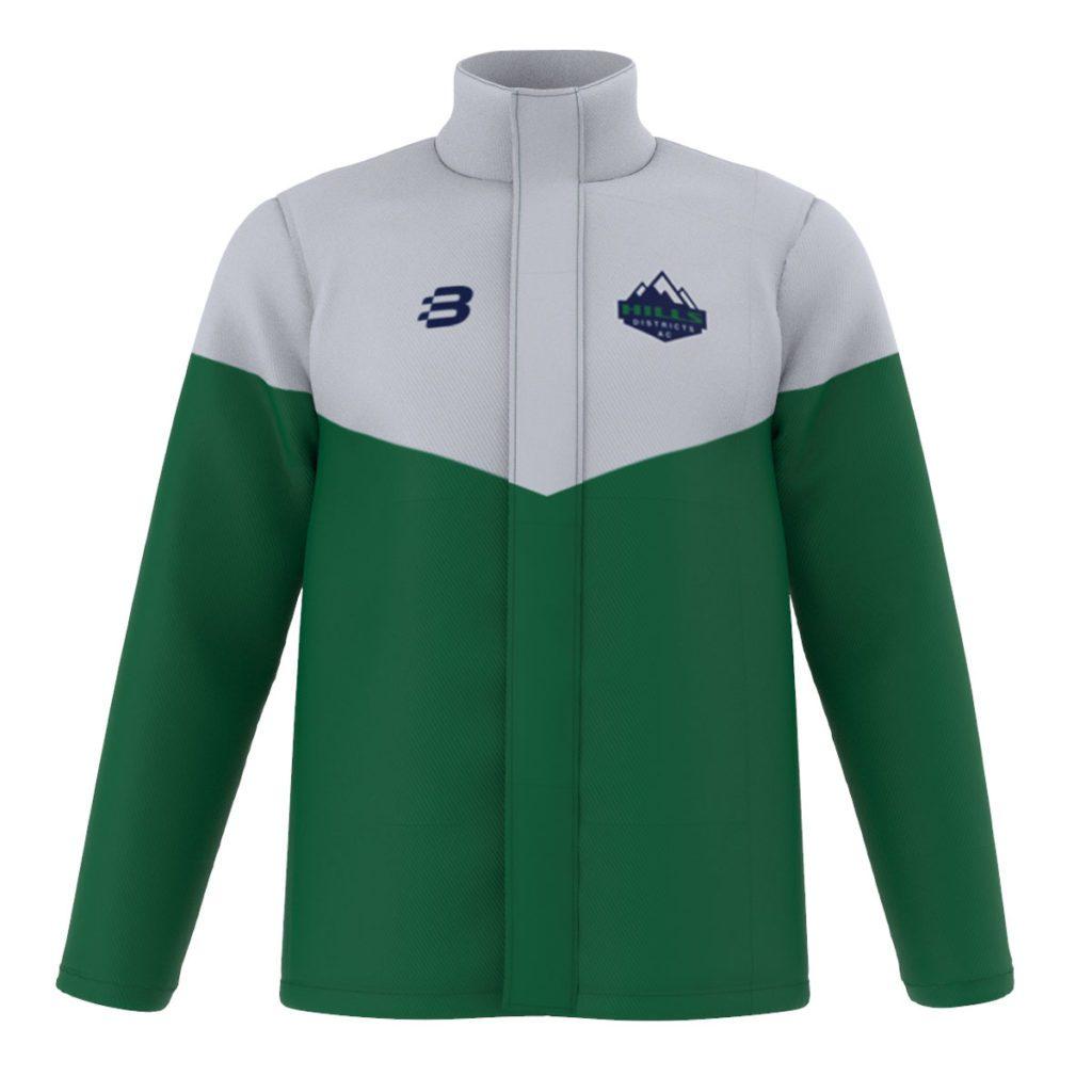 Custom Sublimated Athletics Stadium Jackets - Your Design, Unlimited Colours and Logos