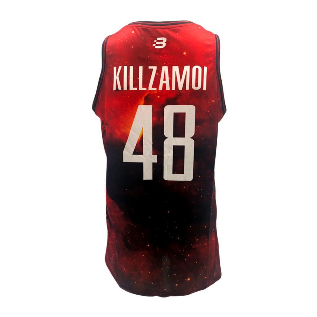 Custom NBA2K Esport Jersey - Killzmoi - back