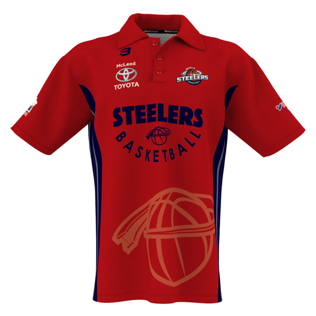 Custom Sublimated - CLUB - Basketball Polo - Any Design, Unlimited Colours & Logos