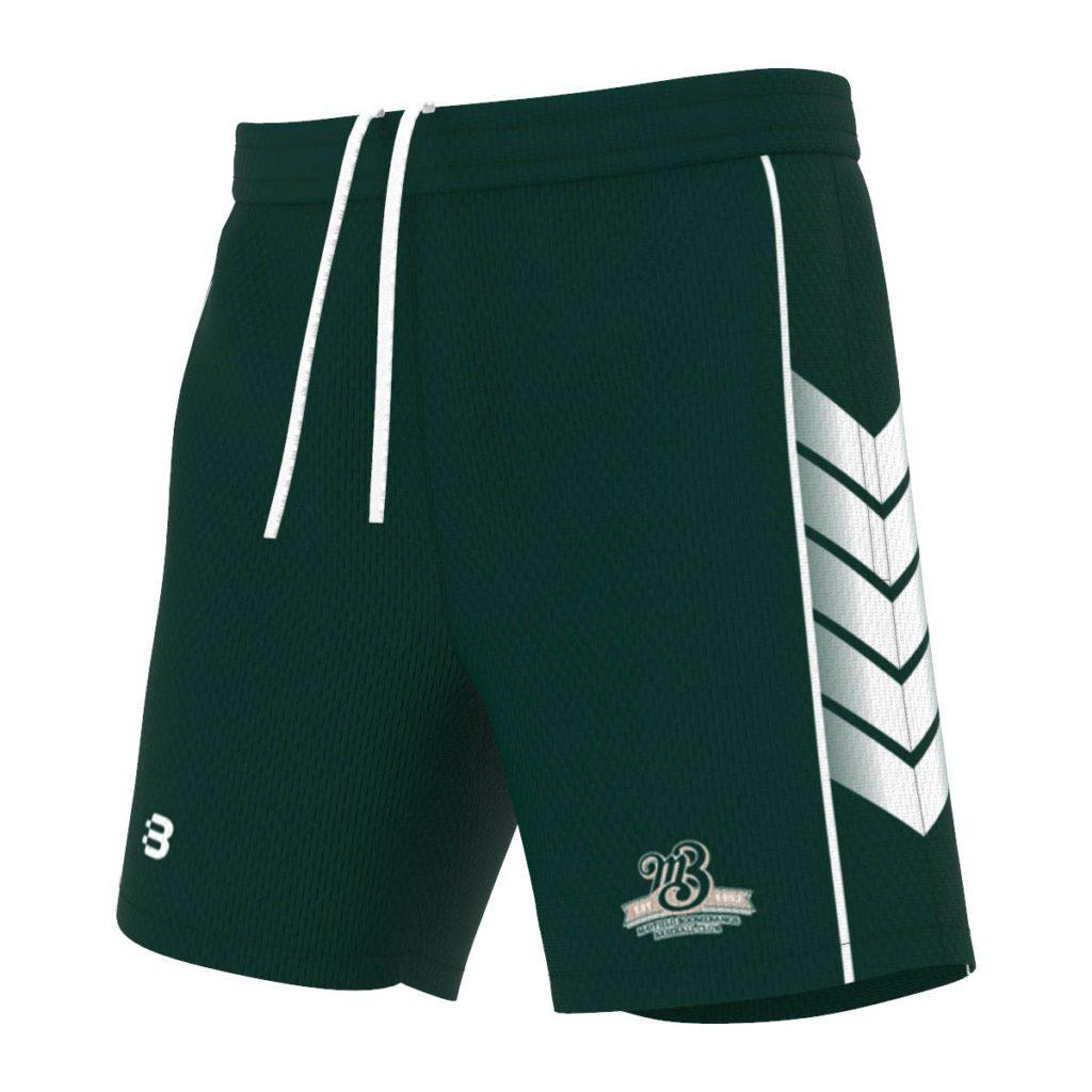 Custom Baseball Shorts - Create Your Design, Add Your Logos & Sponsors