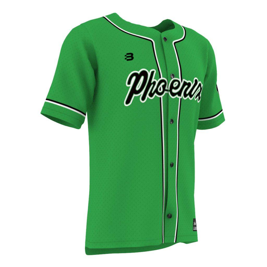 Custom Performance Baseball Jersey featuring Dri Flex Fabric - Create Your Design, Add Your Logos & Sponsors