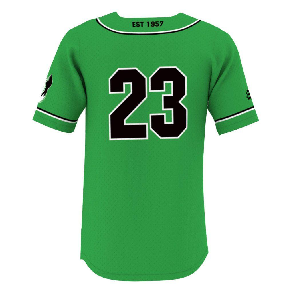 Custom Pro Baseball Jersey feat. Dri Flex Fabric - Back