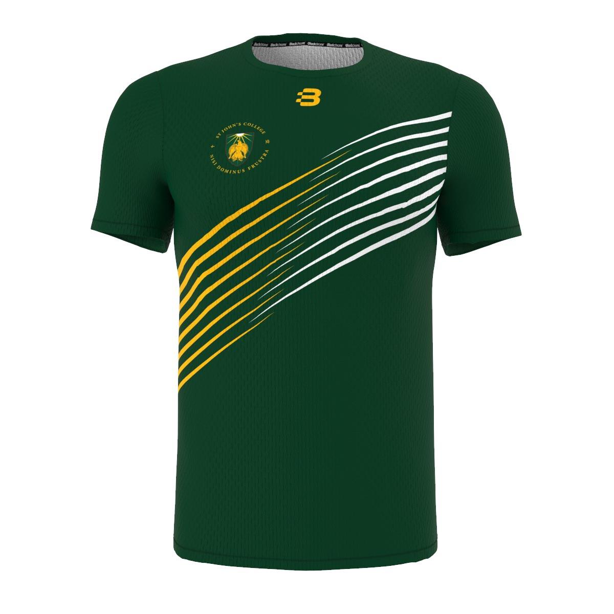 Custom Swimming Apparel - St John's Example - T-Shirt - Any Design, Any Colour - Front