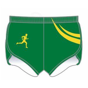 VL87506 - salisbury little athletics centre - adult running short - front