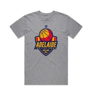 OS3569 - Basketball SA - t-shirt - grey marle -mens - adult