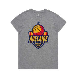OS3570 - Basketball SA - t-shirt - grey marle -womens - adult