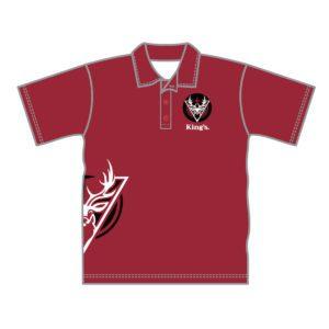 VL87534 - kings baptist grammer school - 052 polo shirt - unisex adult - brimblecombe - front 2