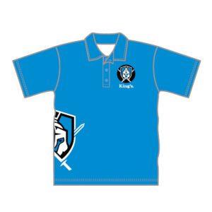 VL87535 - kings baptist grammer school - 052 polo shirt - unisex adult - warren - front