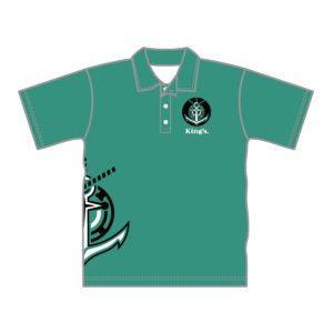 VL87536 - kings baptist grammer school - 052 polo shirt - unisex adult - baldock - front