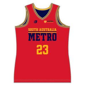 VL883298 - Basketball SA - 6238 reversible basketball singlet - mens - adult - front 1